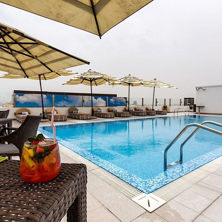 Pool at The Avenue, A Murwab Hotel in Doha